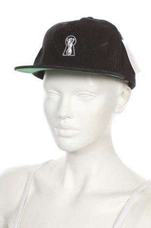 Шапка Brixton, Цвят Черен, Памук, Цена 10,92лв.