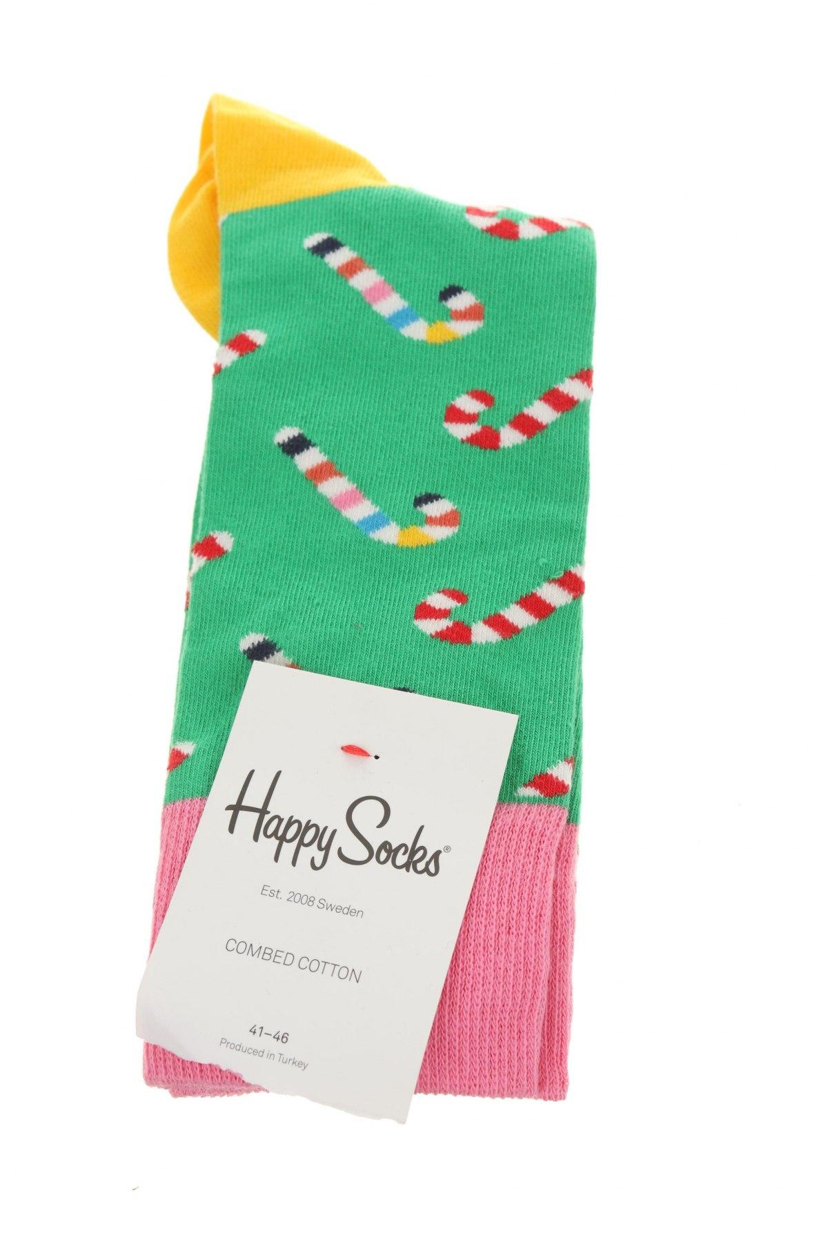 Чорапи Happy Socks, Размер M, Цвят Многоцветен, Цена 16,50лв.