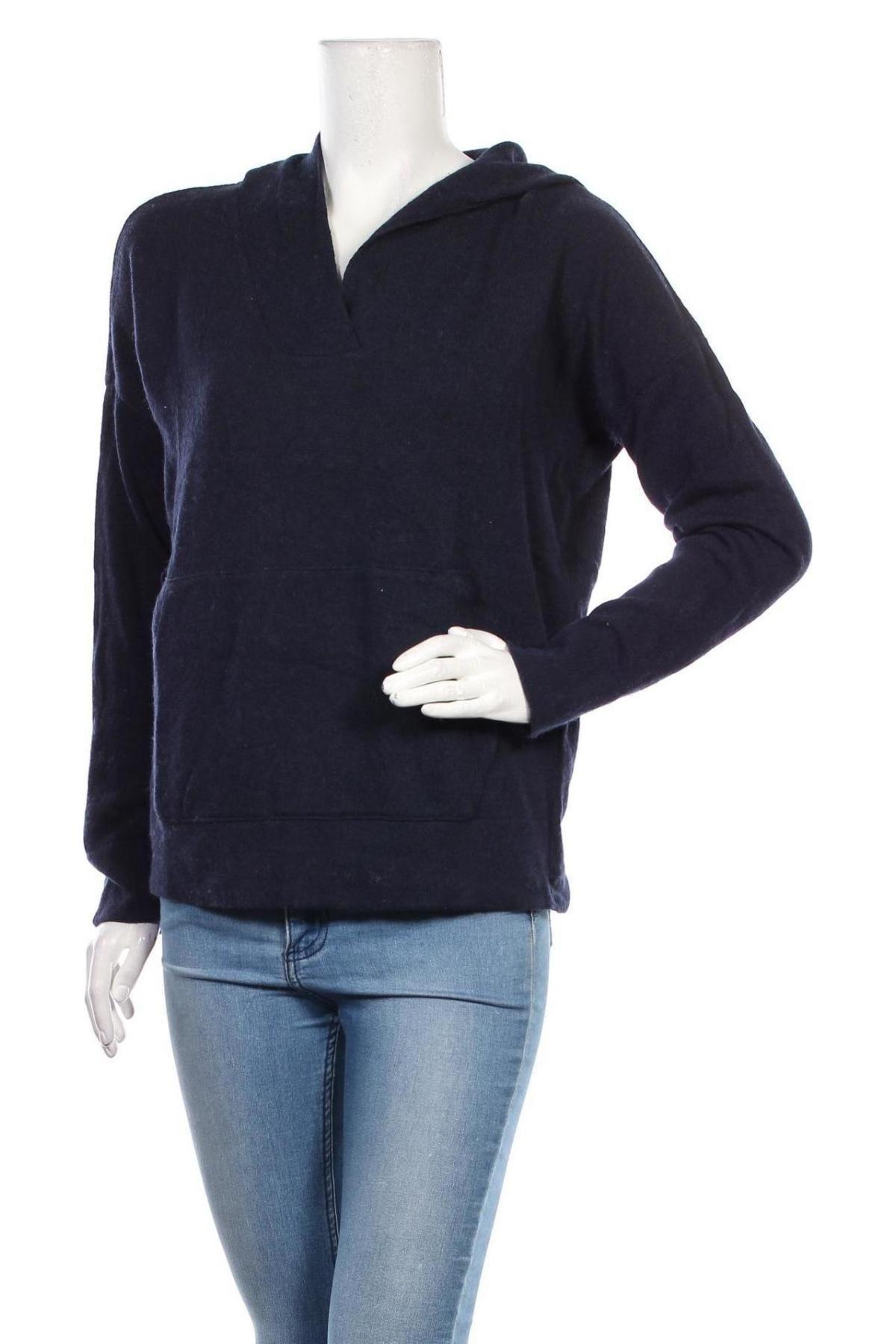 Дамски пуловер LeGer By Lena Gercke, Размер M, Цвят Син, 40% вълна, 30% вискоза, 25% полиамид, 5% кашмир, Цена 48,00лв.