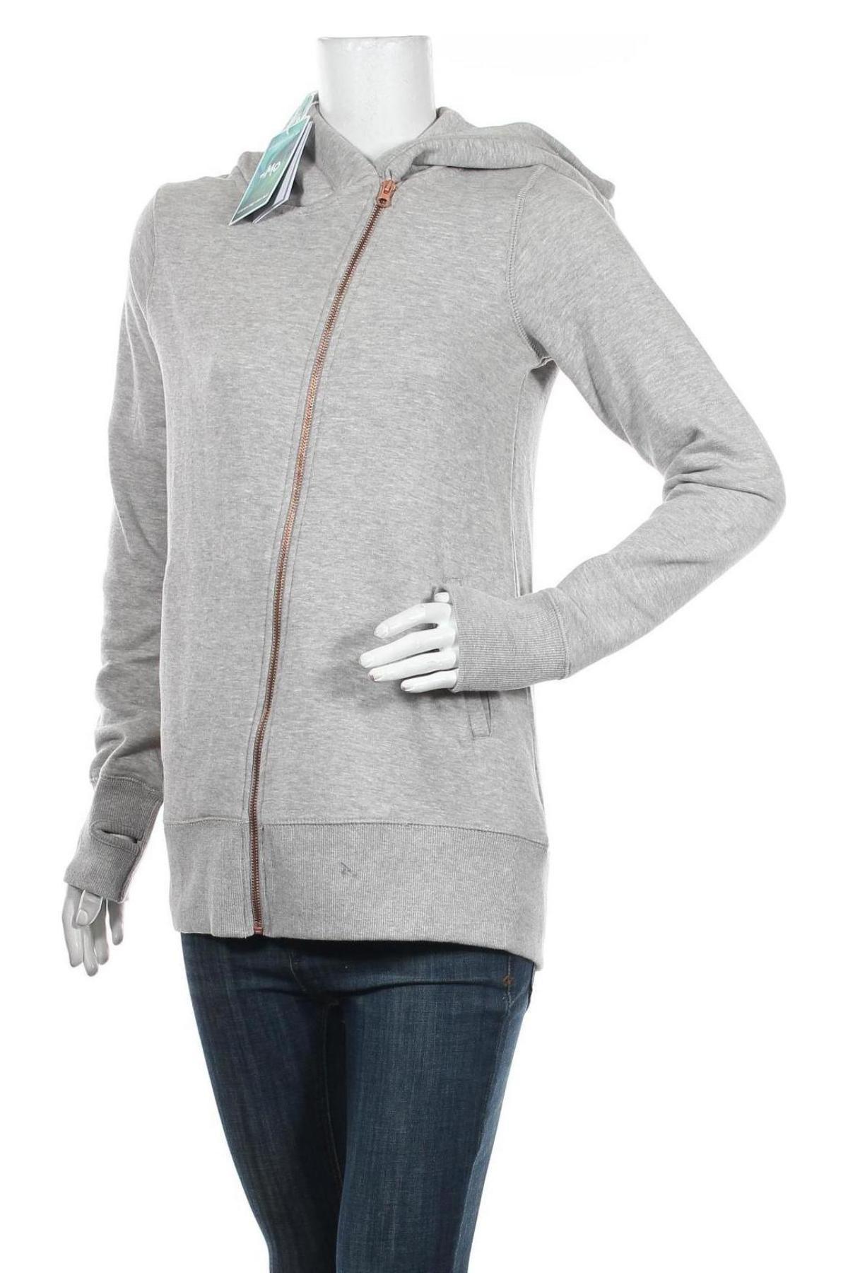 Дамски суичър MyMO, Размер S, Цвят Сив, 65% памук, 35% полиестер, Цена 40,50лв.