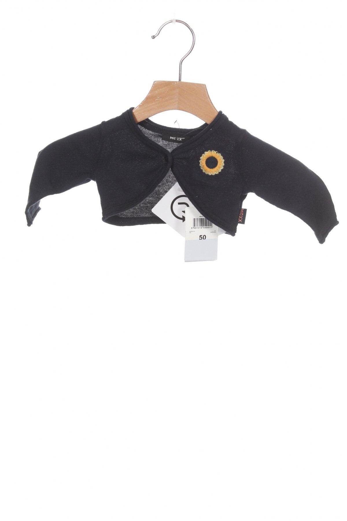 Pulover cu nasturi pentru copii Mexx, Mărime 0-1m/ 50 cm, Culoare Albastru, Bumbac, Preț 19,24 Lei