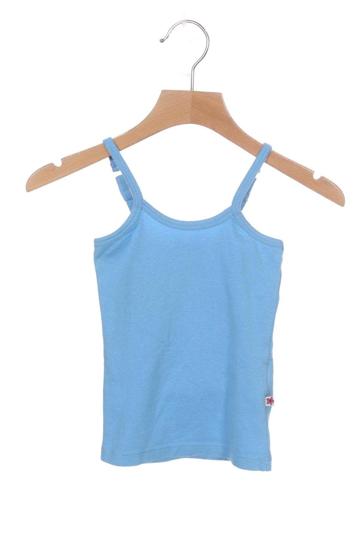 Детски потник Vingino, Размер 1-2m/ 50-56 см, Цвят Син, 95% памук, 5% еластан, Цена 11,52лв.