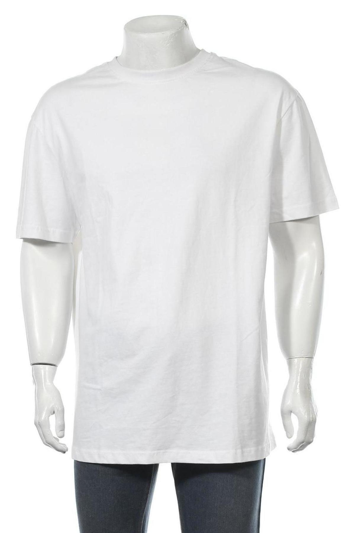 Мъжка тениска Urban Classics, Размер L, Цвят Бял, Памук, Цена 9,80лв.