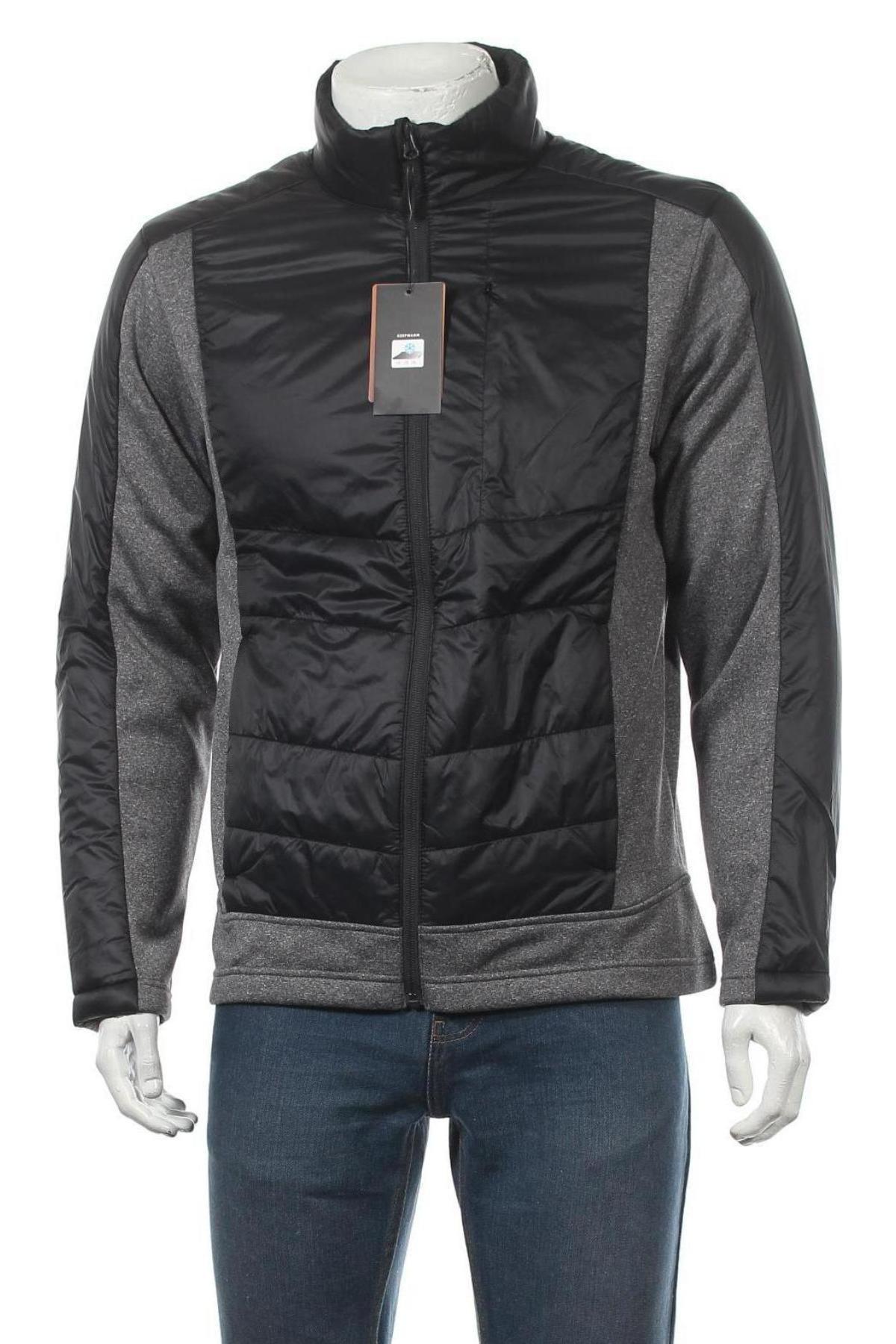 Мъжко спортно яке, Размер M, Цвят Черен, 100% полиамид, Цена 44,25лв.
