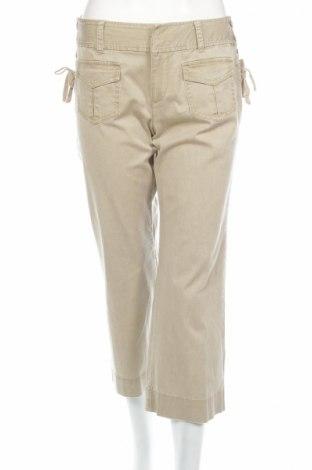 Дамски панталон Express, Размер M, Цвят Бежов, 98% памук, 2% еластан, Цена 8,50лв.