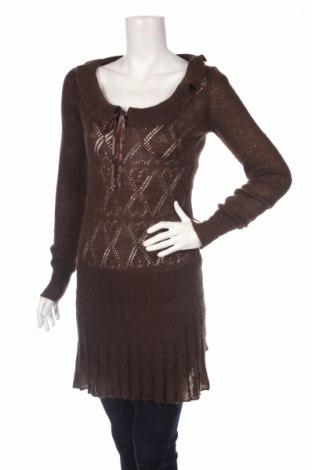 Дамски пуловер Killah, Размер S, Цвят Кафяв, Цена 9,36лв.