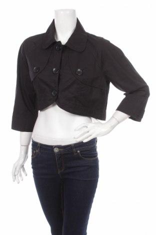 Дамско яке H&M Divided, Размер L, Цвят Черен, Памук, Цена 9,60лв.