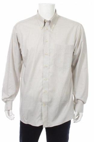 Мъжка риза Pier Angelini, Размер L, Цвят Сив, 100% памук, Цена 7,25лв.
