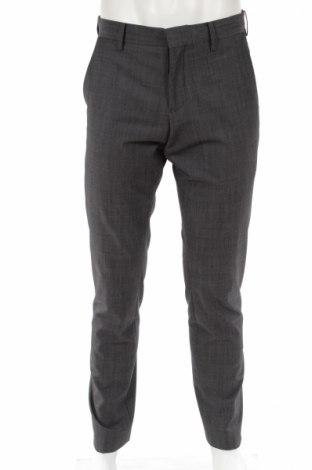 Мъжки панталон Matinique, Размер M, Цвят Сив, 60% вълна, 38% полиестер, 2% еластан, Цена 67,00лв.
