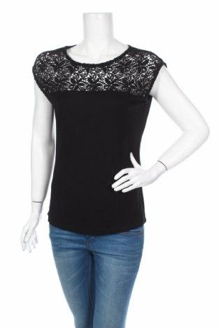 Дамска блуза Anna Field, Размер M, Цвят Черен, Вискоза, памук, Цена 13,68лв.