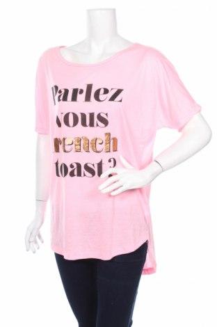 Дамска блуза Ardene, Размер L, Цвят Розов, 50% вискоза, 50% полиестер, Цена 4,50лв.