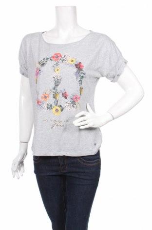 Дамска блуза Comma,, Размер S, Цвят Сив, 50% памук, 50% модал, Цена 19,24лв.