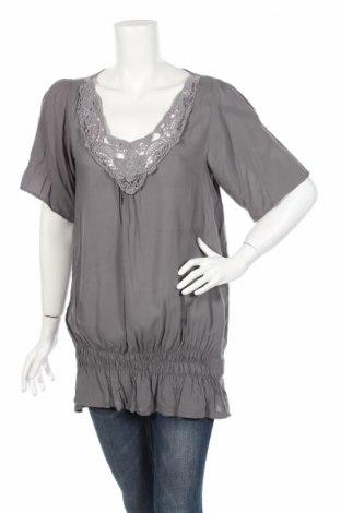 Γυναικεία μπλούζα Madonna, Μέγεθος L, Χρώμα Γκρί, Βισκόζη, Τιμή 12,73€