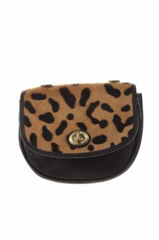 Γυναικεία τσάντα Coach, Χρώμα Μαύρο, Γνήσιο δέρμα, φυσική τρίχα, Τιμή 21,00€