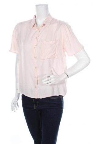 Дамска риза Jennyfer, Размер M, Цвят Розов, 100% вискоза, Цена 6,83лв.