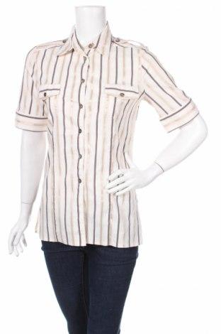 Дамска риза Kombi, Размер M, Цвят Многоцветен, 61% памук, 25% полиамид, 10% полиестер, 4% еластан, Цена 6,83лв.