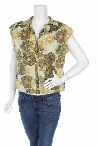 Дамска риза i.e. Relaxed, Размер XL, Цвят Жълт, 100% полиамид, Цена 4,00лв.