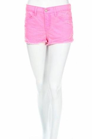 Дамски къс панталон Abercrombie & Fitch, Размер S, Цвят Розов, 100% памук, Цена 11,20лв.