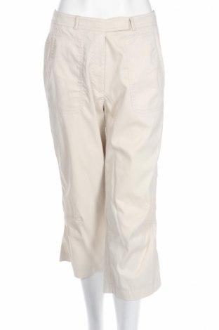 Дамски панталон Dress In, Размер M, Цвят Бежов, 95% полиамид, 5% еластан, Цена 4,62лв.