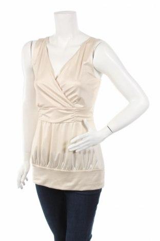 Γυναικείο αμάνικο μπλουζάκι Bodyflirt, Μέγεθος M, Χρώμα  Μπέζ, 92% πολυεστέρας, 8% ελαστάνη, Τιμή 4,22€