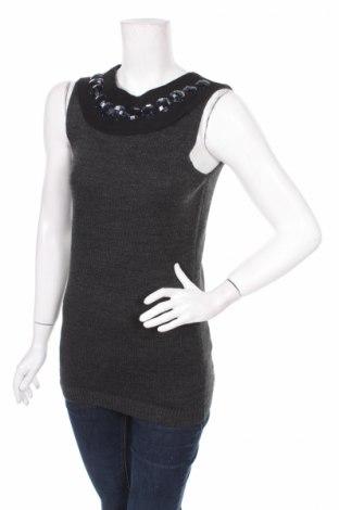 Γυναικείο πουλόβερ Miss H., Μέγεθος S, Χρώμα Γκρί, 100%ακρυλικό, Τιμή 14,02€