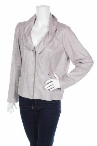 Дамско яке, Размер L, Цвят Сив, Полиестер, Цена 3,36лв.
