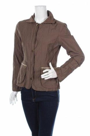 Дамско яке Mia&tua, Размер S, Цвят Кафяв, 48% полиамид, 47% памук, 5% метал, Цена 16,64лв.