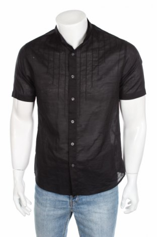 Pánská košile  Calvin Klein Jeans, Rozměr M, Barva Černá, Bavlna, Cena  266,00Kč