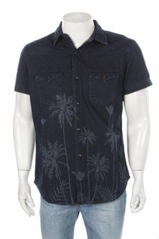 Pánska košeľa  Jack & Jones, Veľkosť L, Farba Modrá, 100% bavlna, Cena  9,74€