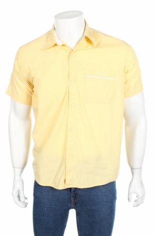 Ανδρικό πουκάμισο Pepe Jeans, Μέγεθος M, Χρώμα Κίτρινο, Βαμβάκι, Τιμή 13,07€