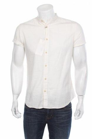 Pánska košeľa  Selected Homme, Veľkosť M, Farba Kremová, 73% bavlna, 27% bavlna, Cena  11,73€