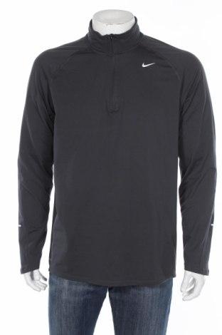 Pánske športové tričko  Nike, Veľkosť L, Farba Sivá, 88% polyester, 12% elastan, Cena  20,47€