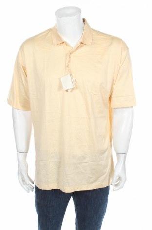 Męski T-shirt, Rozmiar L, Kolor Żółty, Bawełna, Cena 11,45zł