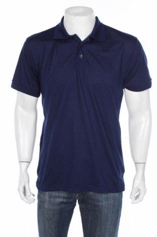 Pánské tričko , Rozměr L, Barva Modrá, 60% bavlna, 40% polyester, Cena  100,00Kč