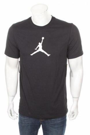 Pánske tričko  Air Jordan Nike, Veľkosť M, Farba Čierna, 57% bavlna, 43% polyester, Cena  28,01€