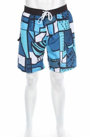 Ανδρικό κοντό παντελόνι Bench, Μέγεθος L, Χρώμα Πολύχρωμο, Πολυεστέρας, Τιμή 12,45€