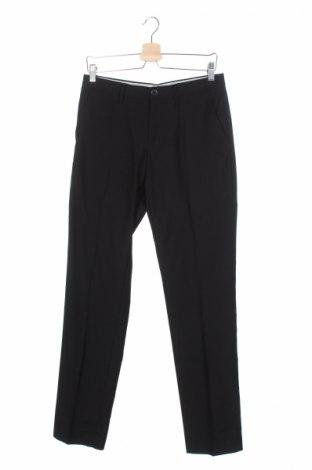Мъжки панталон Sisley, Размер S, Цвят Черен, 68% полиестер, 32% вискоза, Цена 19,20лв.