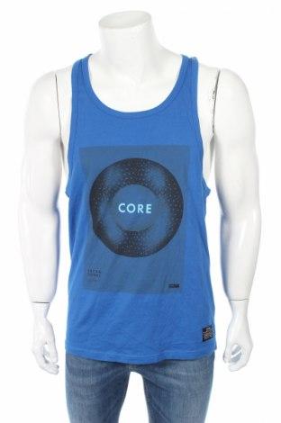 Pánske tielko  Core By Jack & Jones, Veľkosť L, Farba Modrá, Bavlna, Cena  7,22€