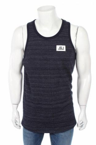 Pánske tielko  Core By Jack & Jones, Veľkosť L, Farba Modrá, 89% bavlna, 11% polyester, Cena  7,22€