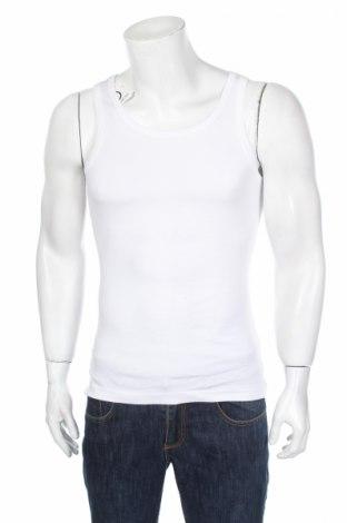 Pánske tielko , Veľkosť S, Farba Biela, Bavlna, Cena  3,25€