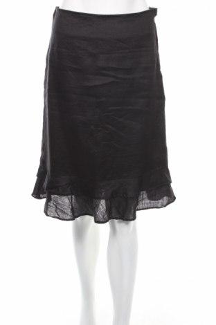 Пола H&M, Размер S, Цвят Черен, Рамия, Цена 8,13лв.