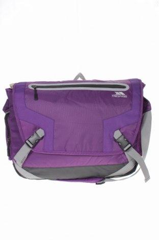 Чанта за лаптоп Trespass, Цвят Лилав, Текстил, Цена 27,30лв.
