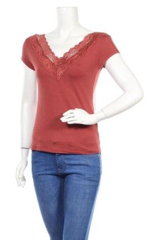 Γυναικεία μπλούζα About You, Μέγεθος XS, Χρώμα Κόκκινο, 95% βισκόζη, 5% ελαστάνη, Τιμή 5,20€