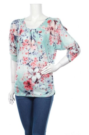 Дамска блуза Aniston, Размер XS, Цвят Многоцветен, 100% полиестер, Цена 3,02лв.