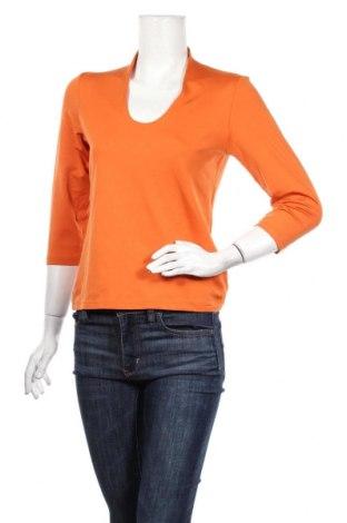 Дамска блуза Apanage, Размер L, Цвят Оранжев, 90% полиамид, 10% еластан, Цена 35,44лв.