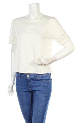 Дамска блуза Jack Wills, Размер M, Цвят Бял, 50% памук, 50% модал, Цена 25,35лв.