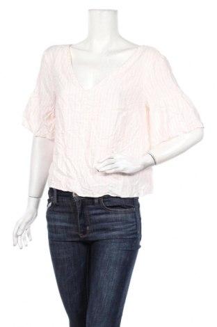Дамска блуза Jack Wills, Размер M, Цвят Розов, Вискоза, Цена 29,90лв.