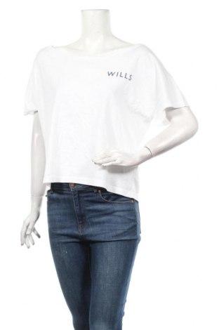 Дамска блуза Jack Wills, Размер L, Цвят Бял, Памук, Цена 29,90лв.