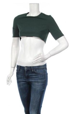 Дамска блуза Nasty Gal, Размер S, Цвят Зелен, 95% полиестер, 5% еластан, Цена 14,84лв.