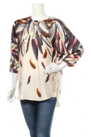 Дамска блуза Zara, Размер S, Цвят Многоцветен, Полиестер, Цена 21,86лв.